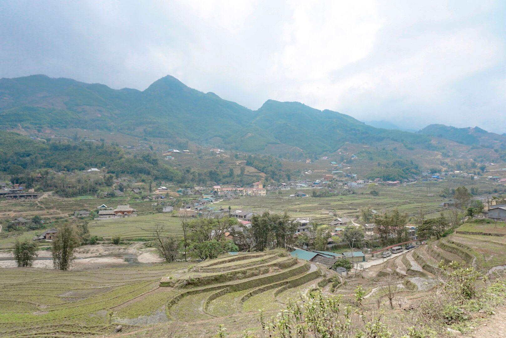 riziere sa pa et ta van nord vietnam randonnée