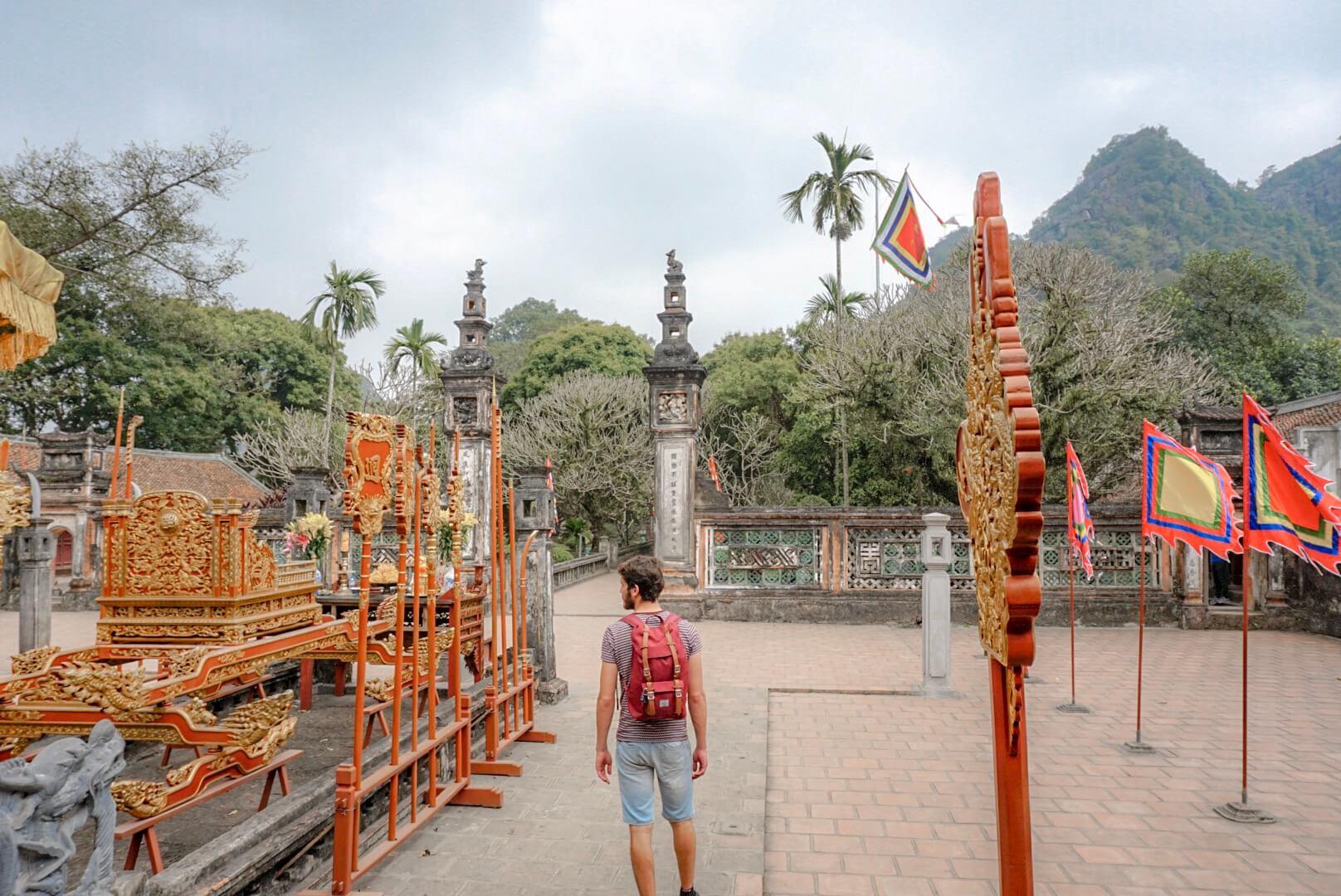Temple cité Hoa Lu Vietnam Tam Coc