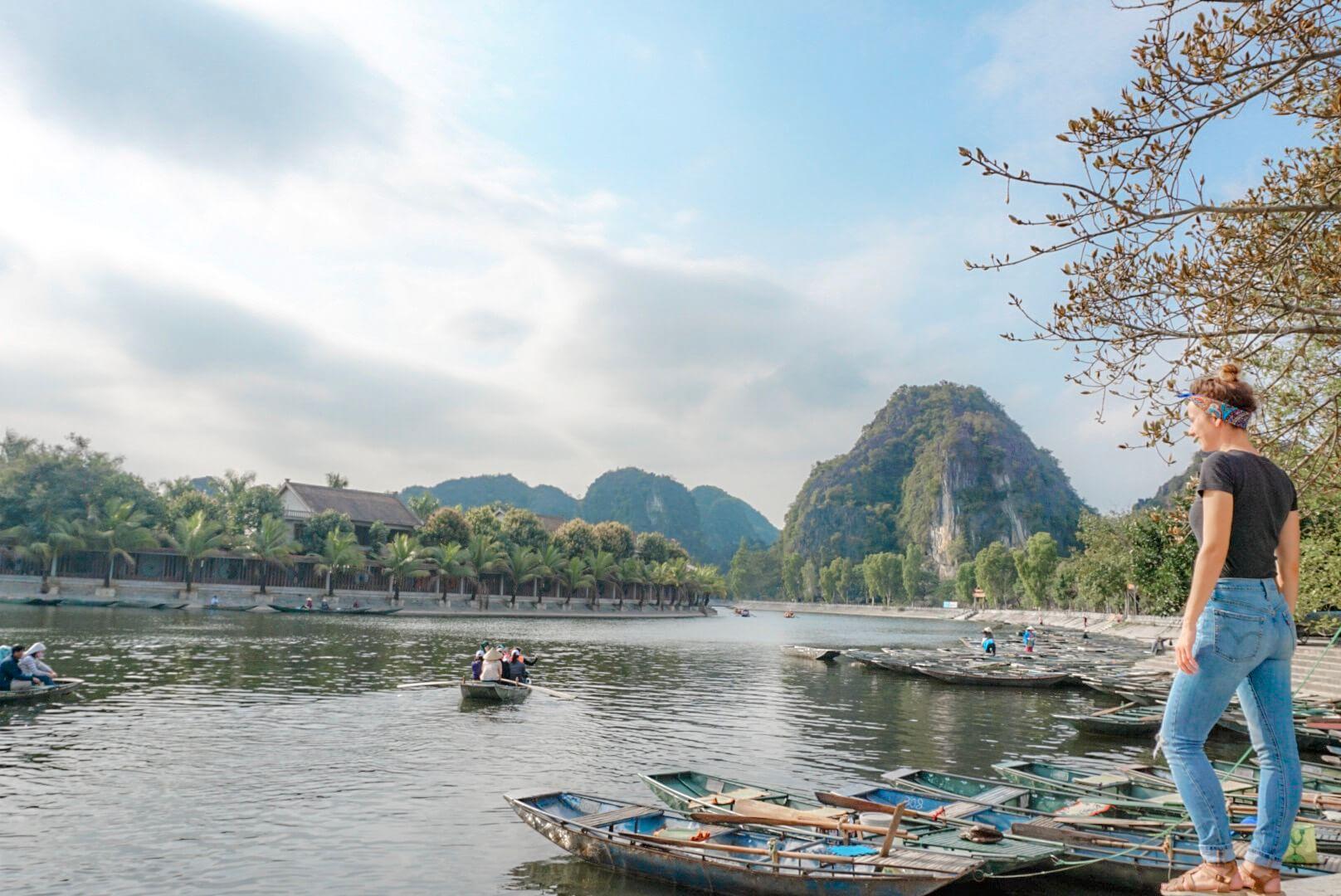 Barque Tam Coc Baie d'Ha Long Terrestre vietnam