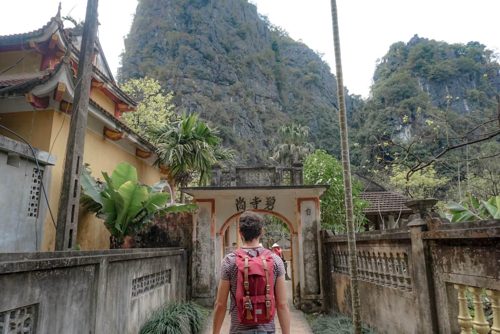 Bich Dong grotte de jade Tam Coc Vietnam