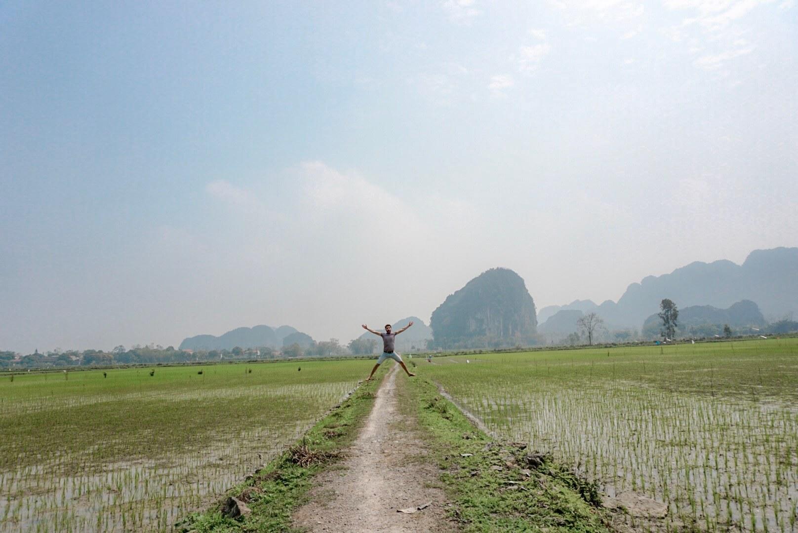 rizières de Tam Coc Baie Ha Long