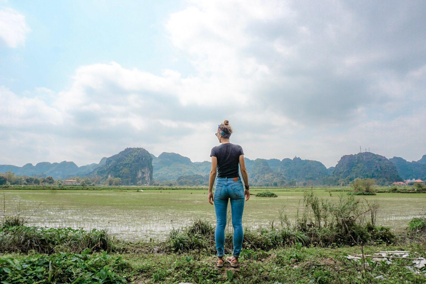 rizières Tam Coc Baie Ha Long Terrestre Vietnam