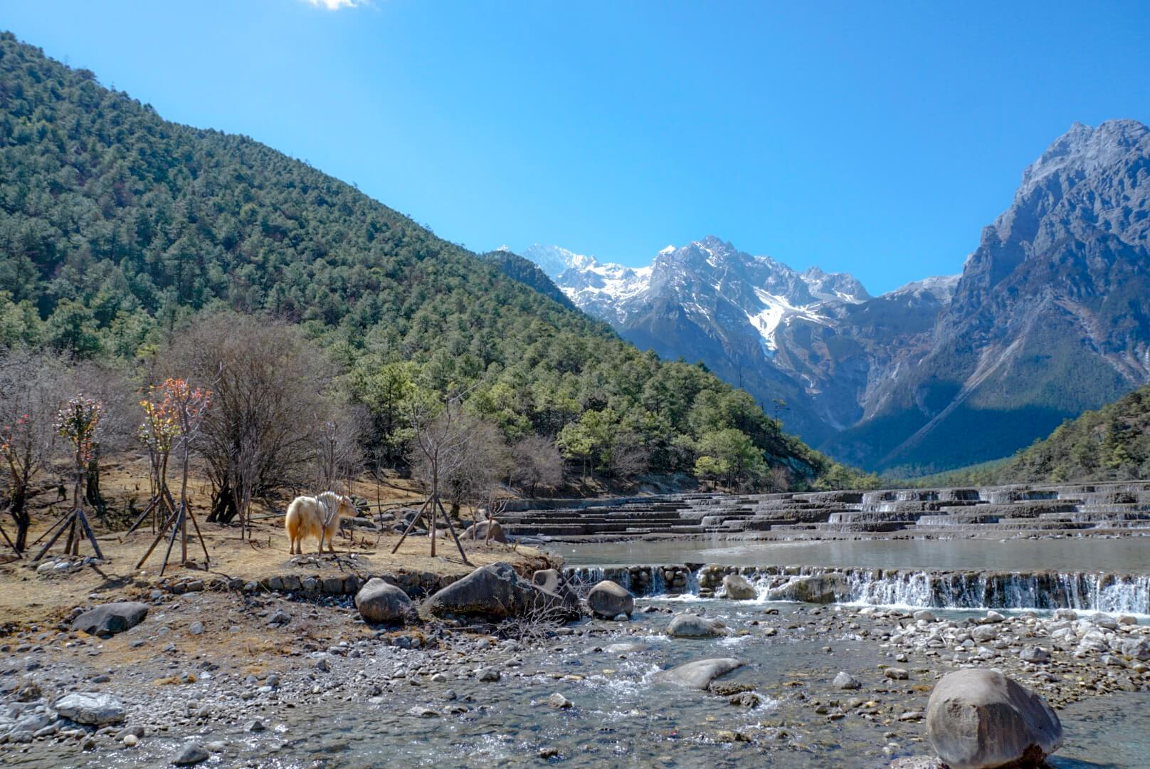 comment visiter la blue moon valley Lijiang chine blog