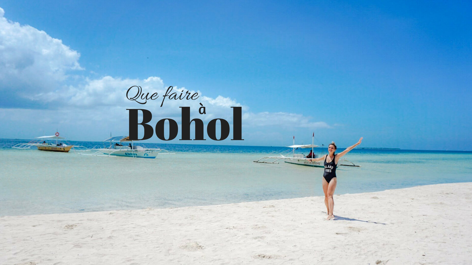 visiter Bohol Panglao philippines