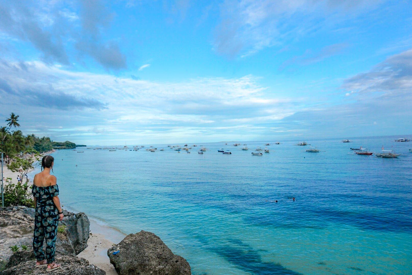 Plage Panglao beach Bohol Philippines
