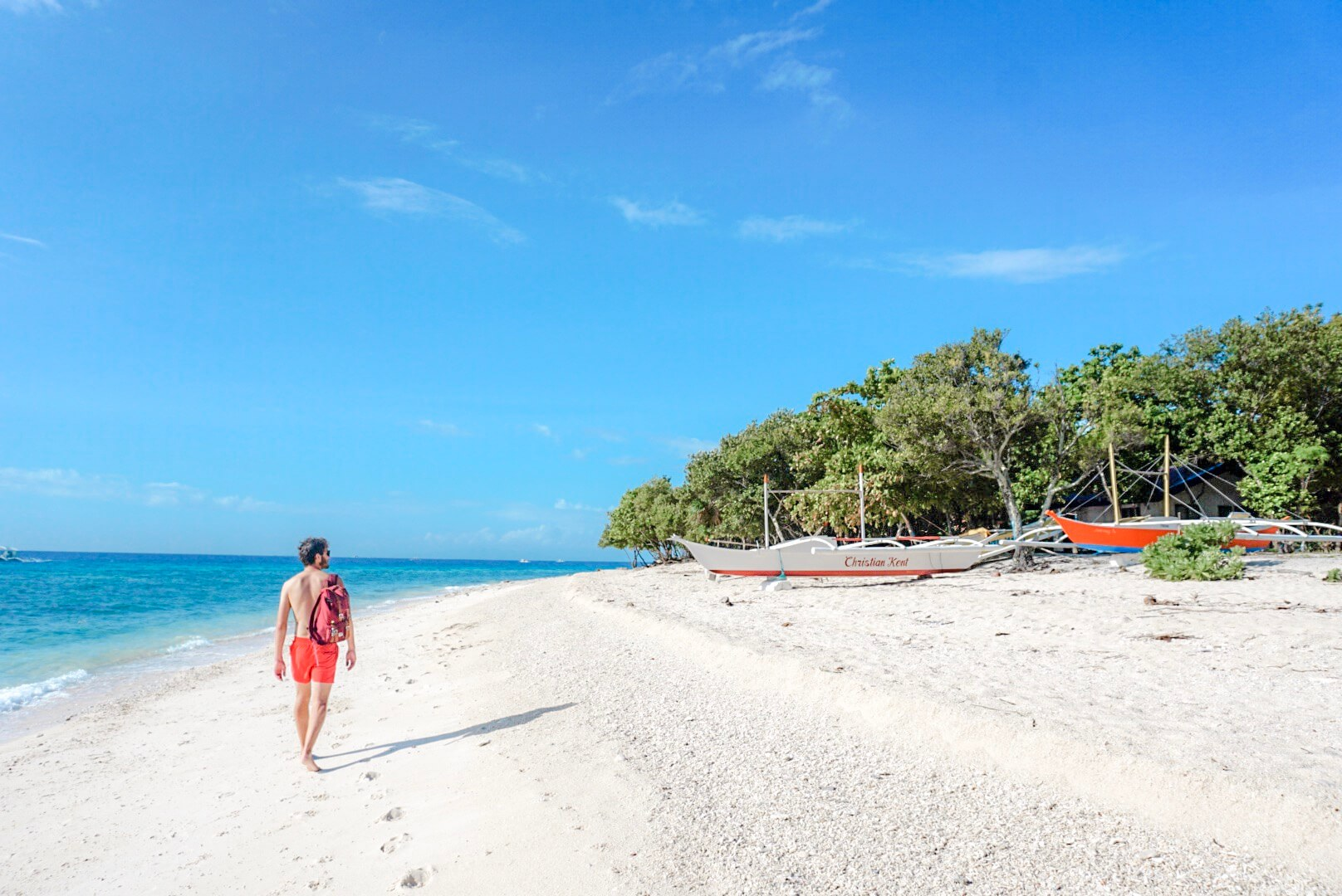 Island Hopping plage de Balicasag Panglao Bohol Philippines