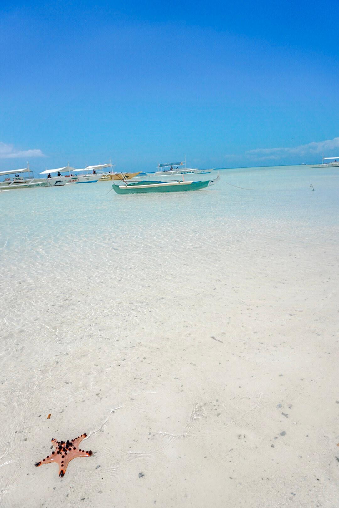 Virgin island philippines depuis panglao