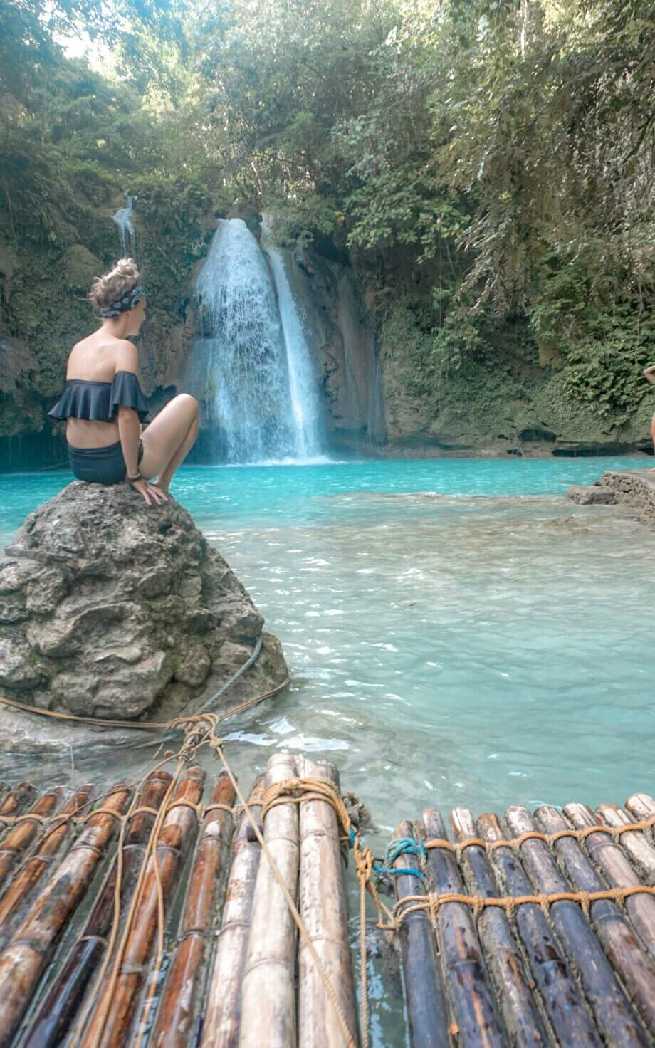 Cascades de Kawasan Falls Philippines