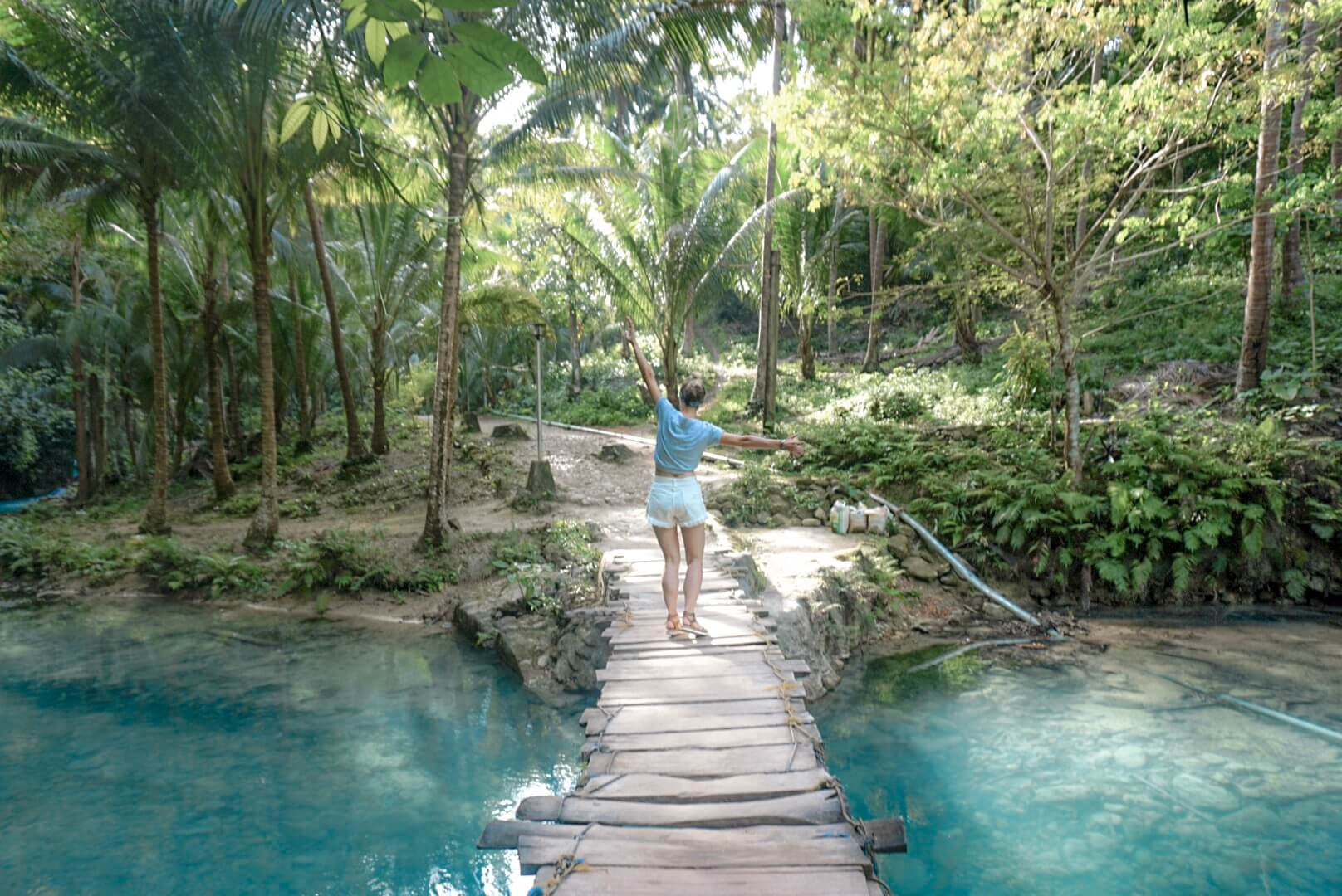Kawasan falls Moalboal Philippines que faire