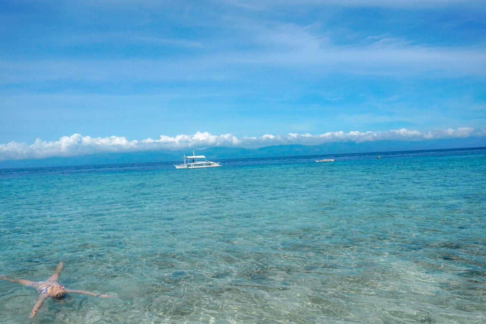 Boat tour et snorkeling à moalboal Philippines