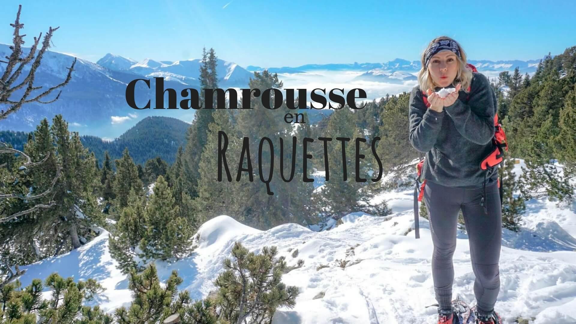 Idée de randonnée raquette en Isère Chamrousse