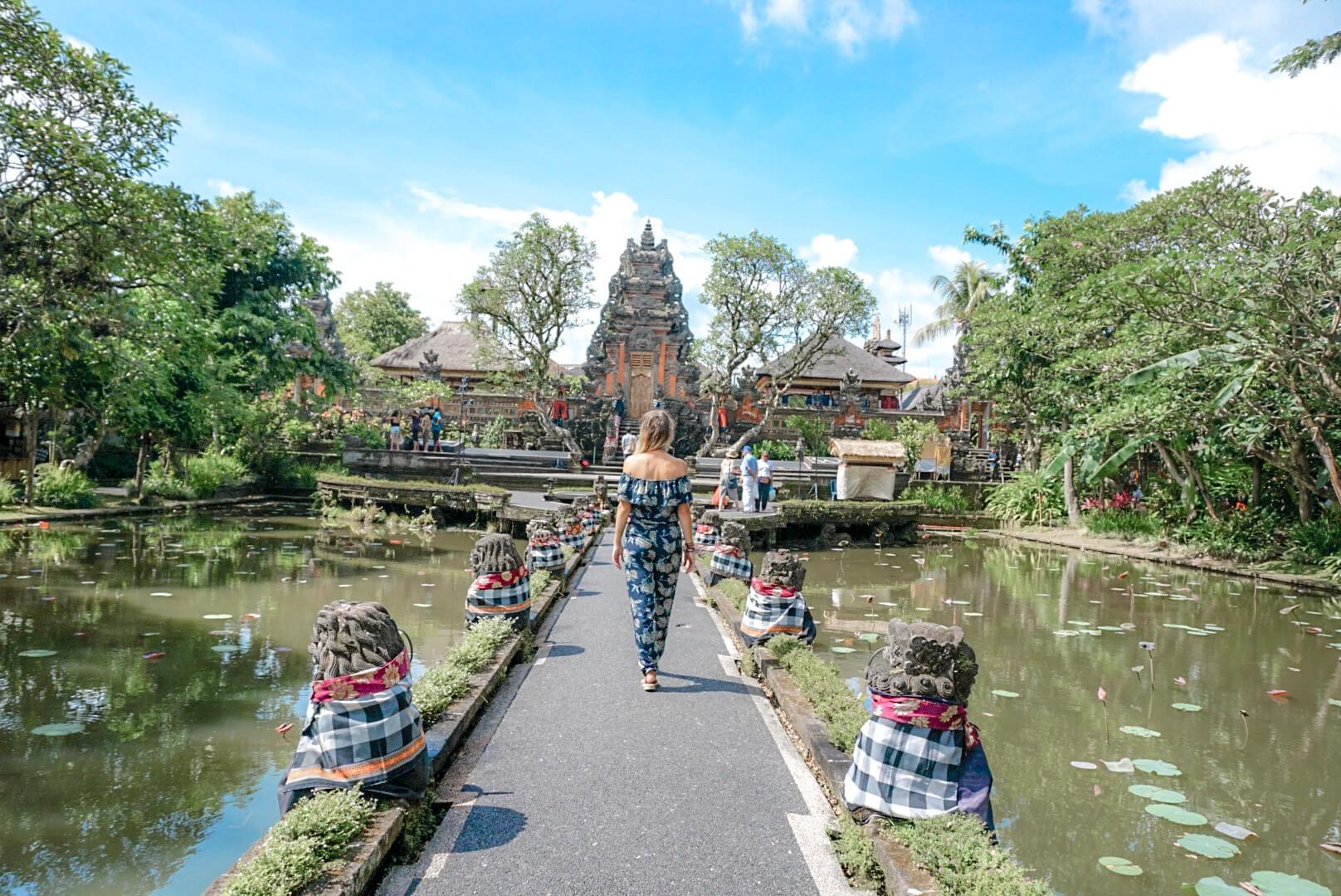 Que faire à Ubud palais Saraswati temple Bali