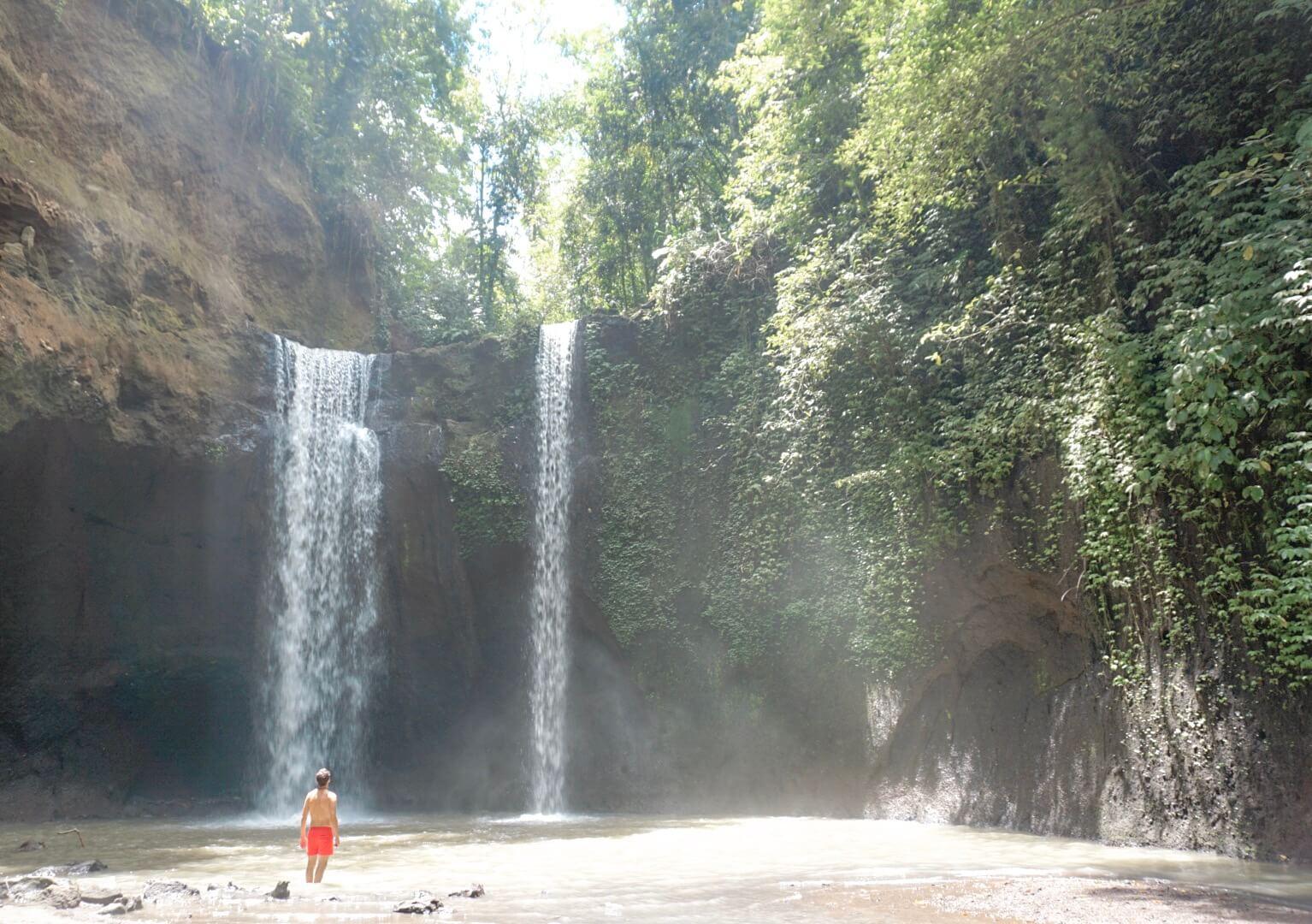 Visiter la cascade de Kanto Lampo Ubud Bali