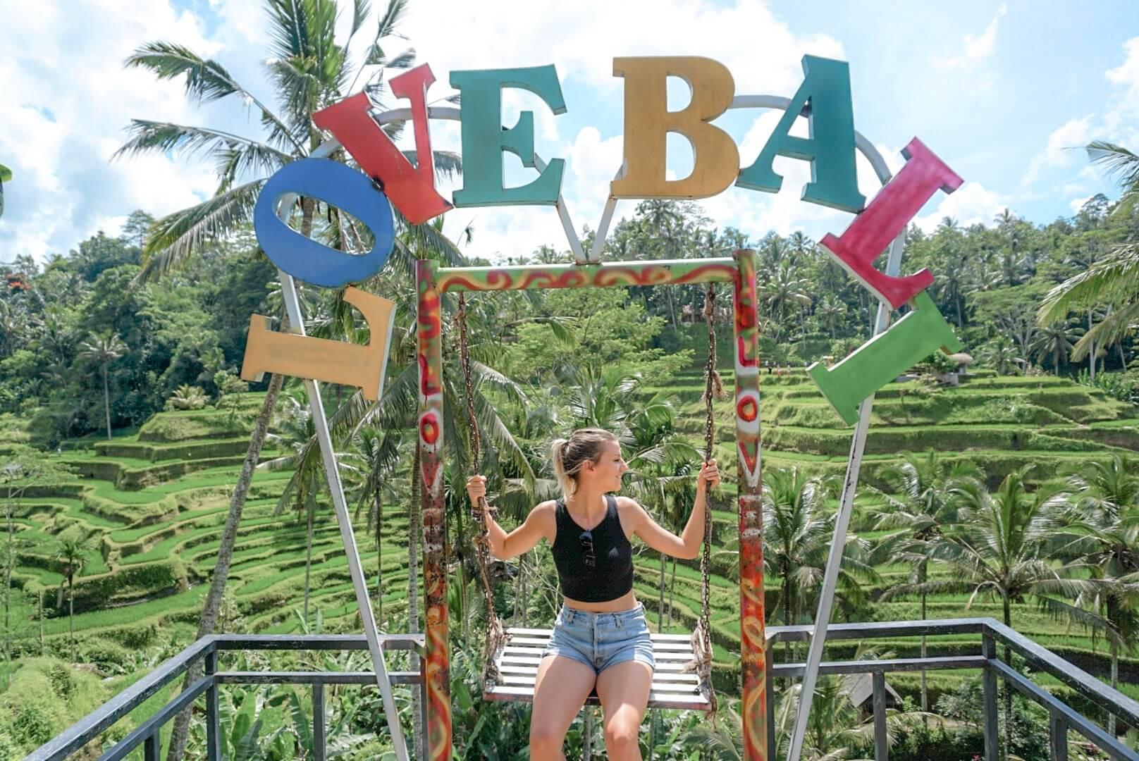 Visiter Les Rizières de Tegalalang Ubud Bali
