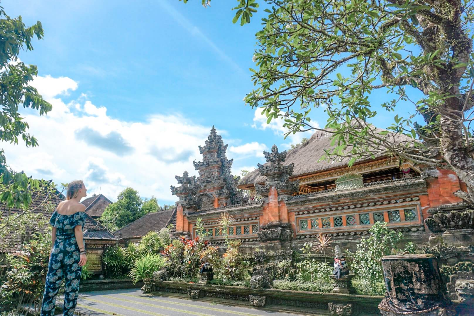 Visiter Ubud Saraswati temple