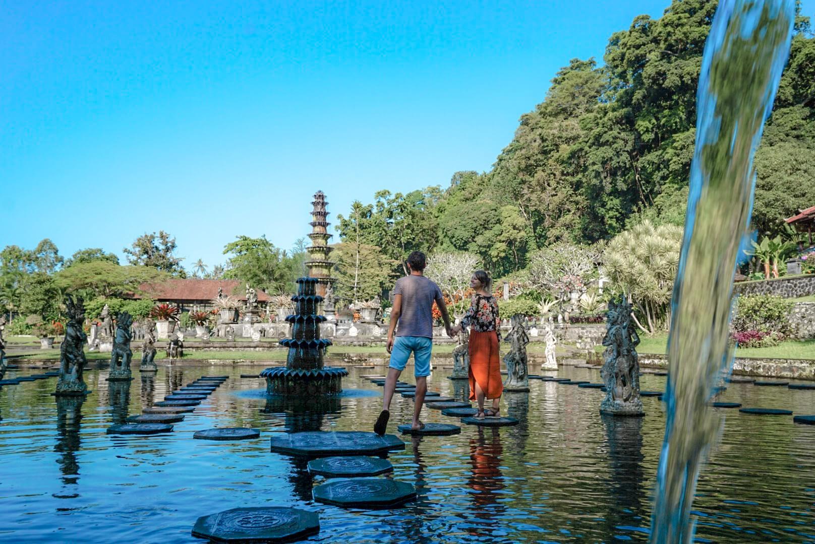 Temple de Tirta Ganga Bali et ses fontaines