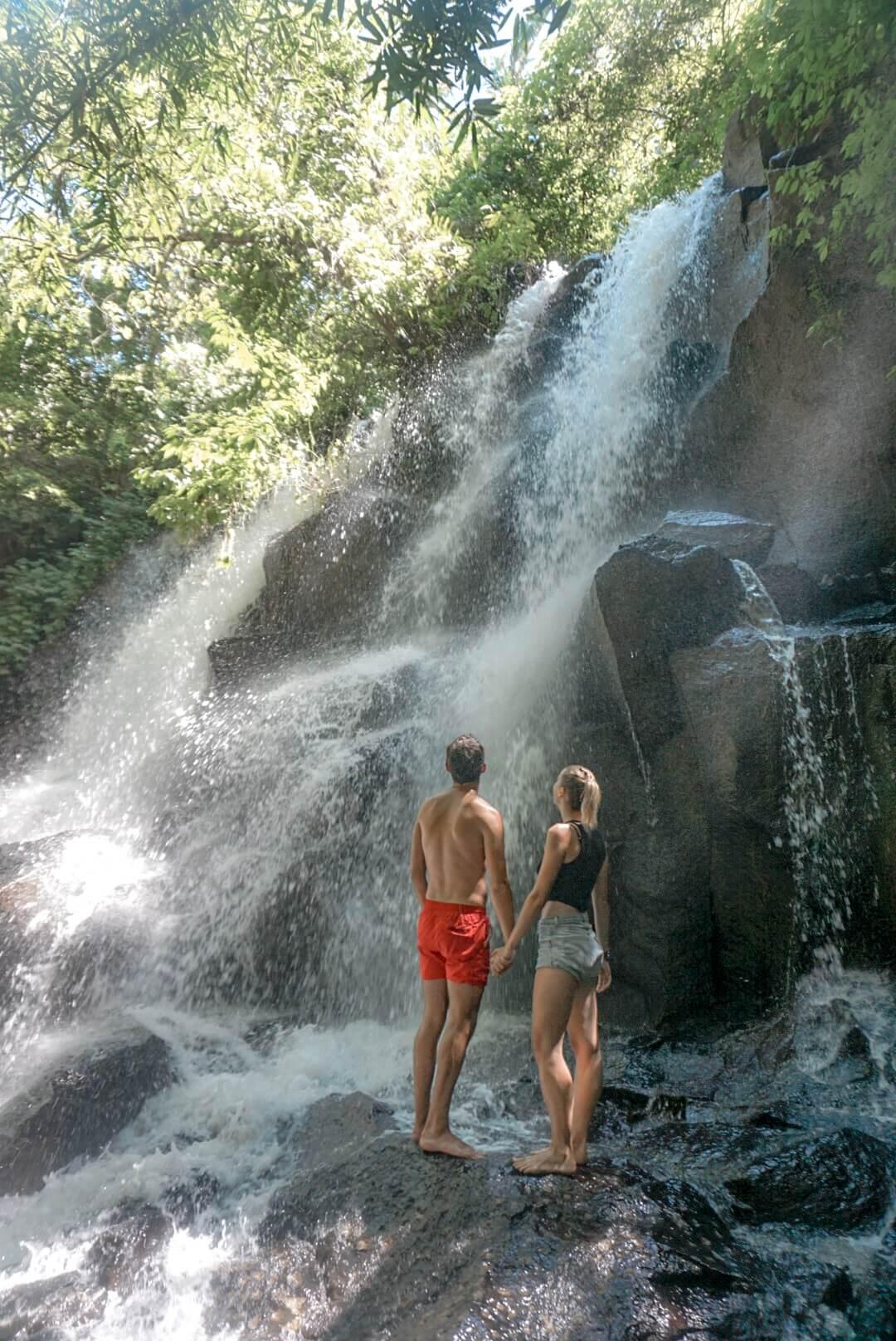 Visiter la cascade Tibumana Falls depuis Ubud Bali