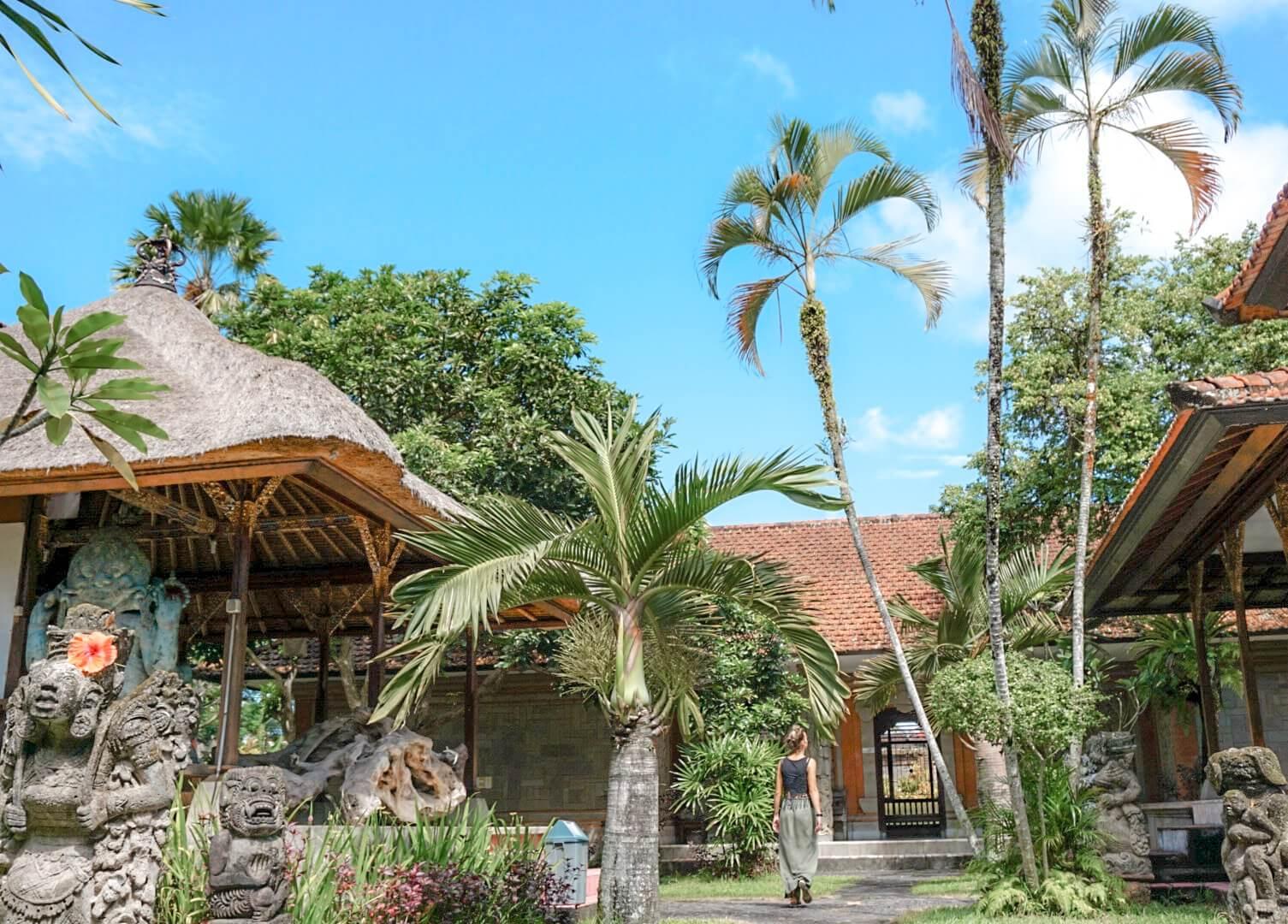La magie des Décors balinais Ubud Bali
