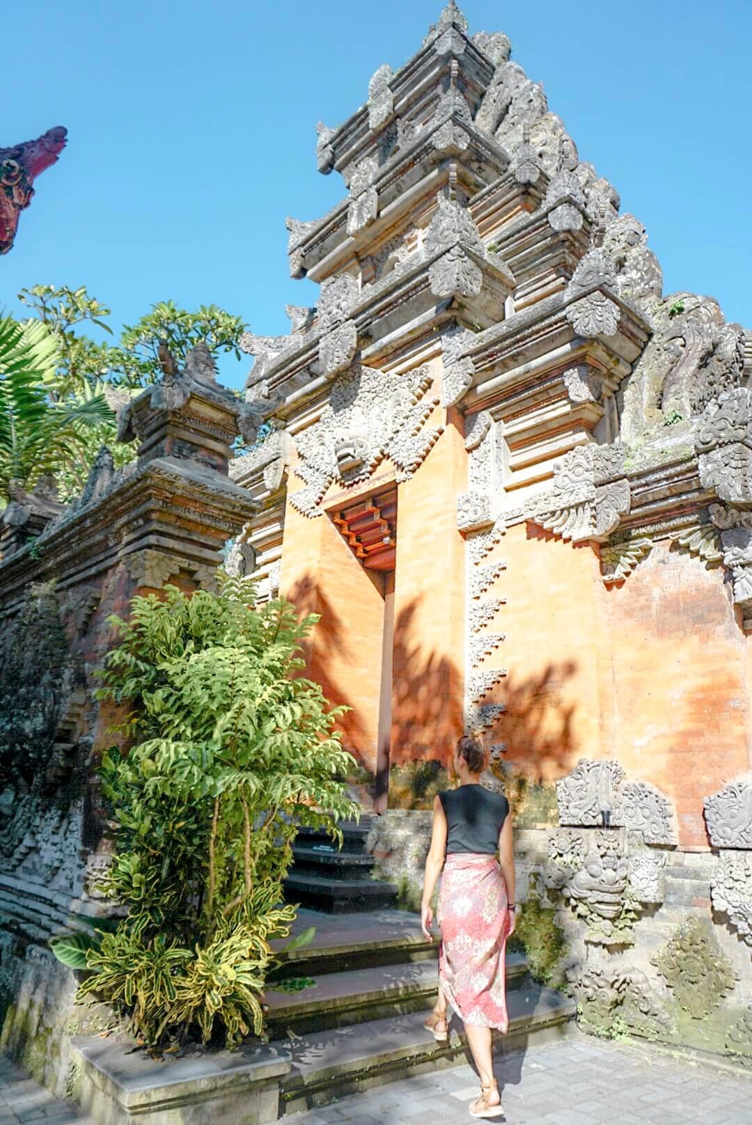 Visiter Ubud Palace temple Bali