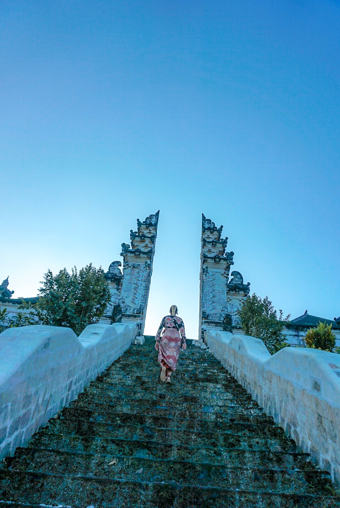 comment se rendre au temple pura Lempuyang depuis amed