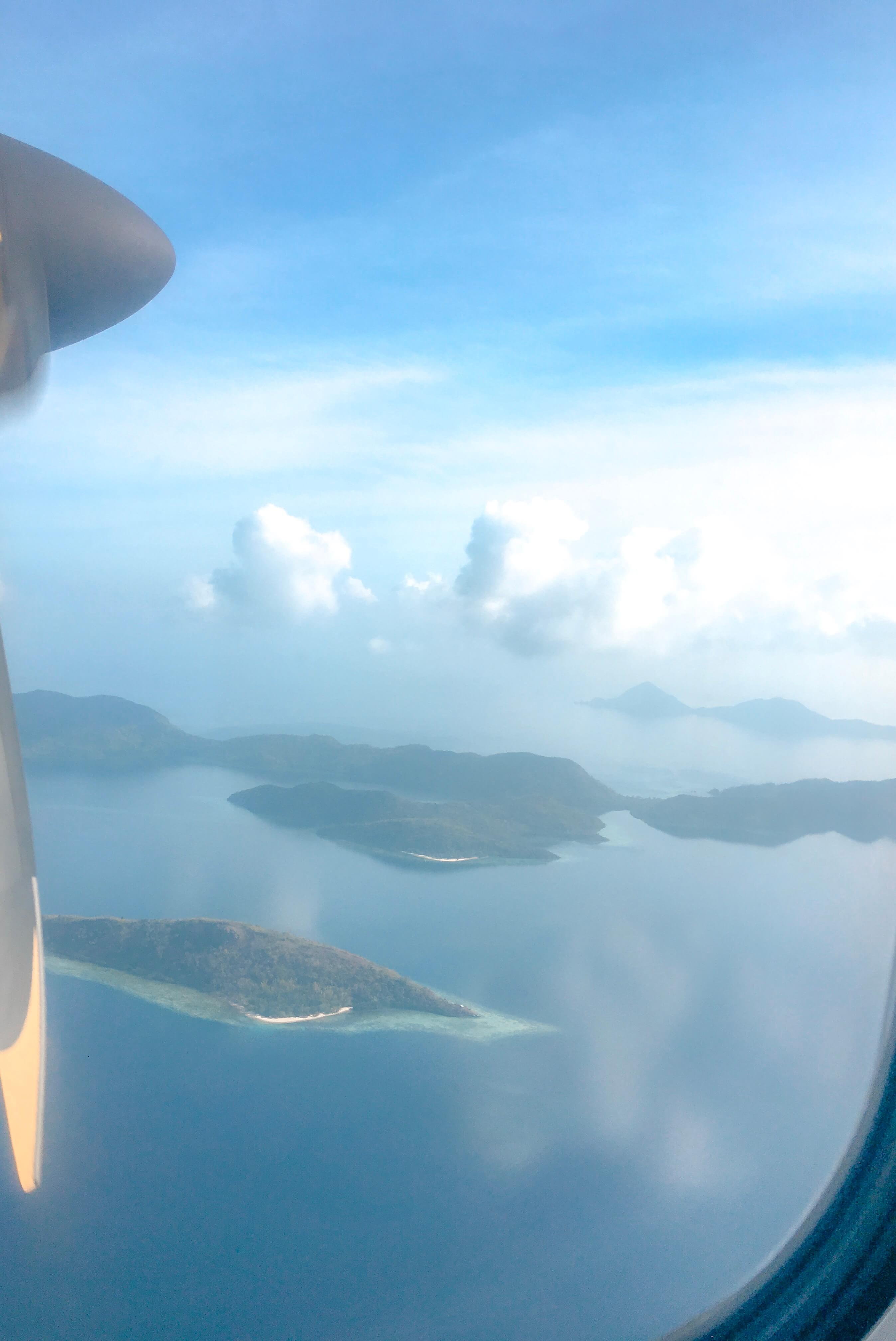 Busuanga Coron Philippines vue avion