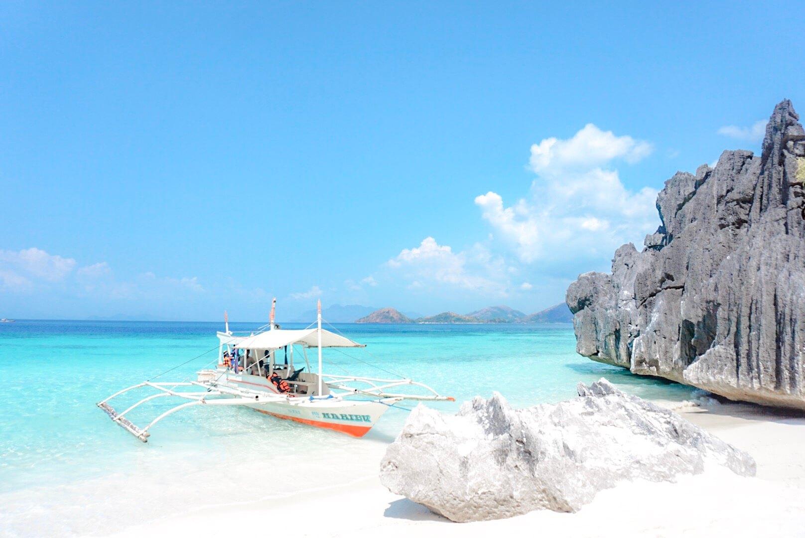 Banol Beach Philippines plage coron