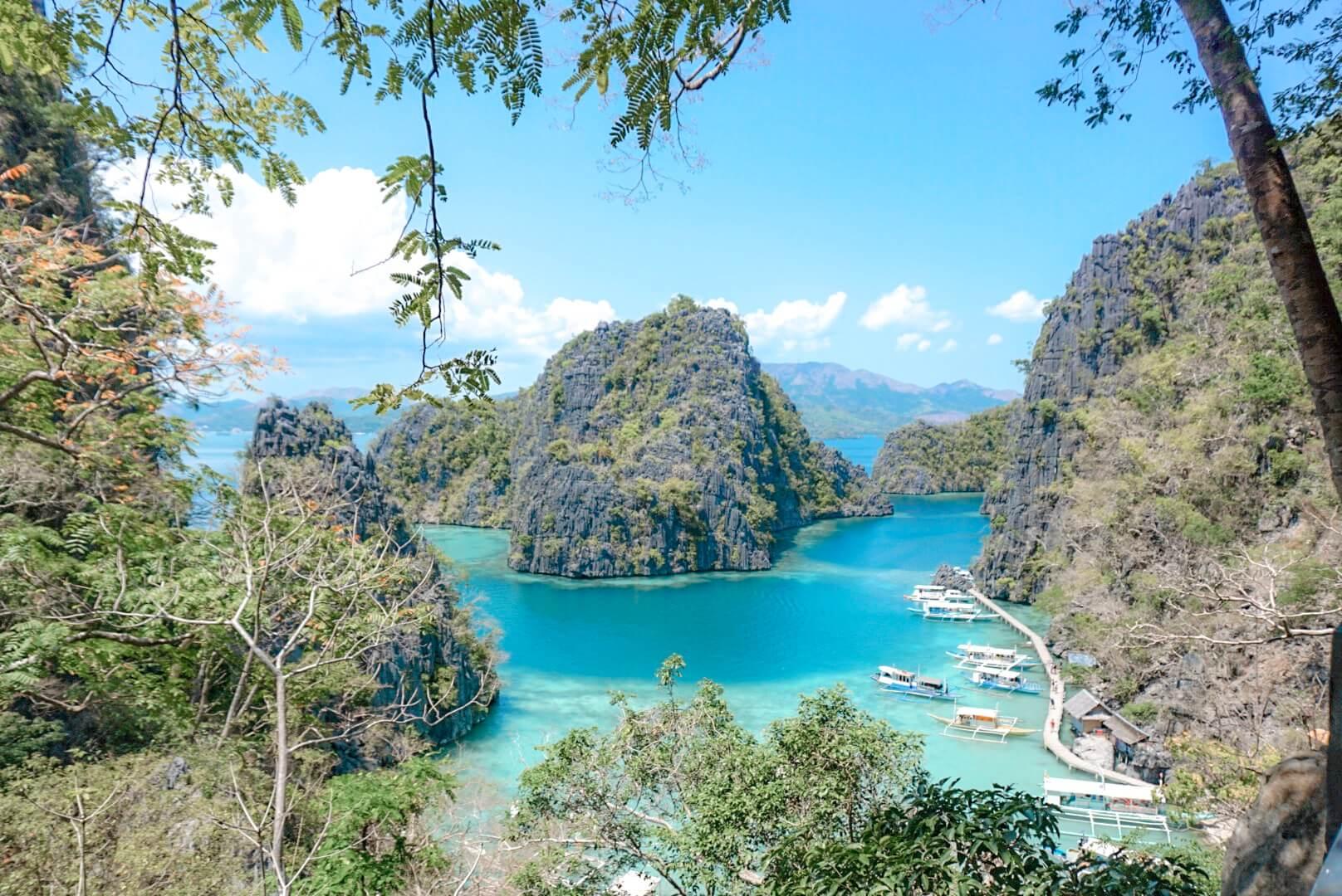 Kayangan lake et lagon Philippines Coron