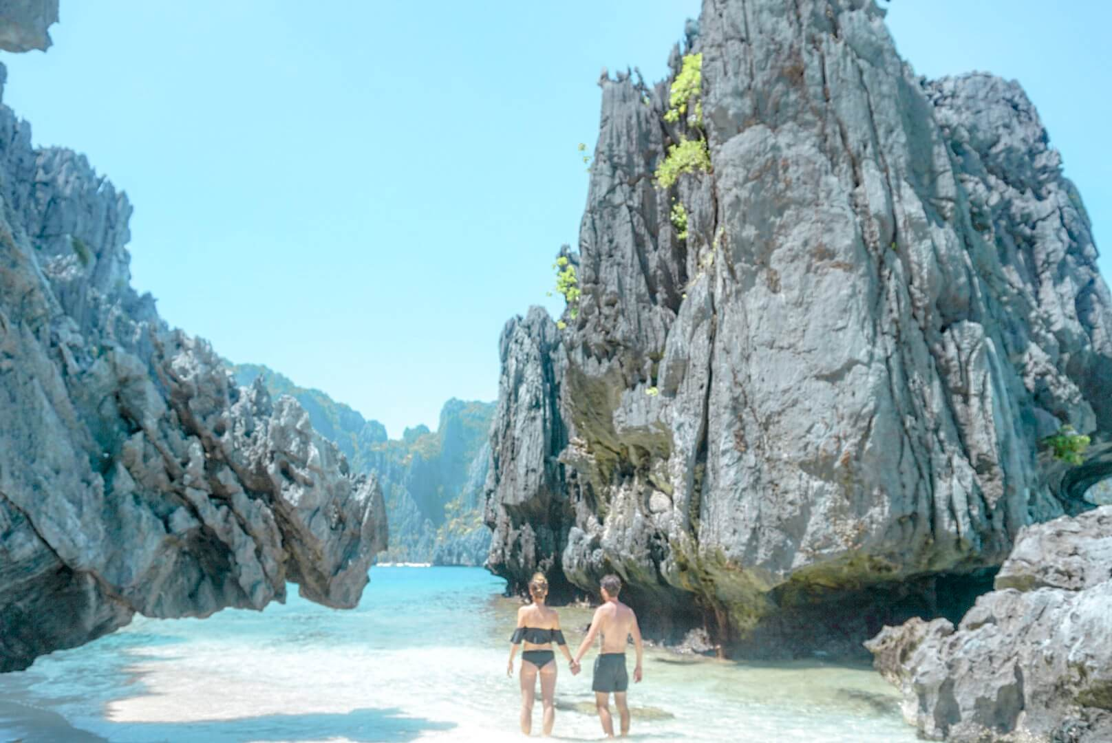 Baie de Bacuits Shimizu island hopping Philippines El nido