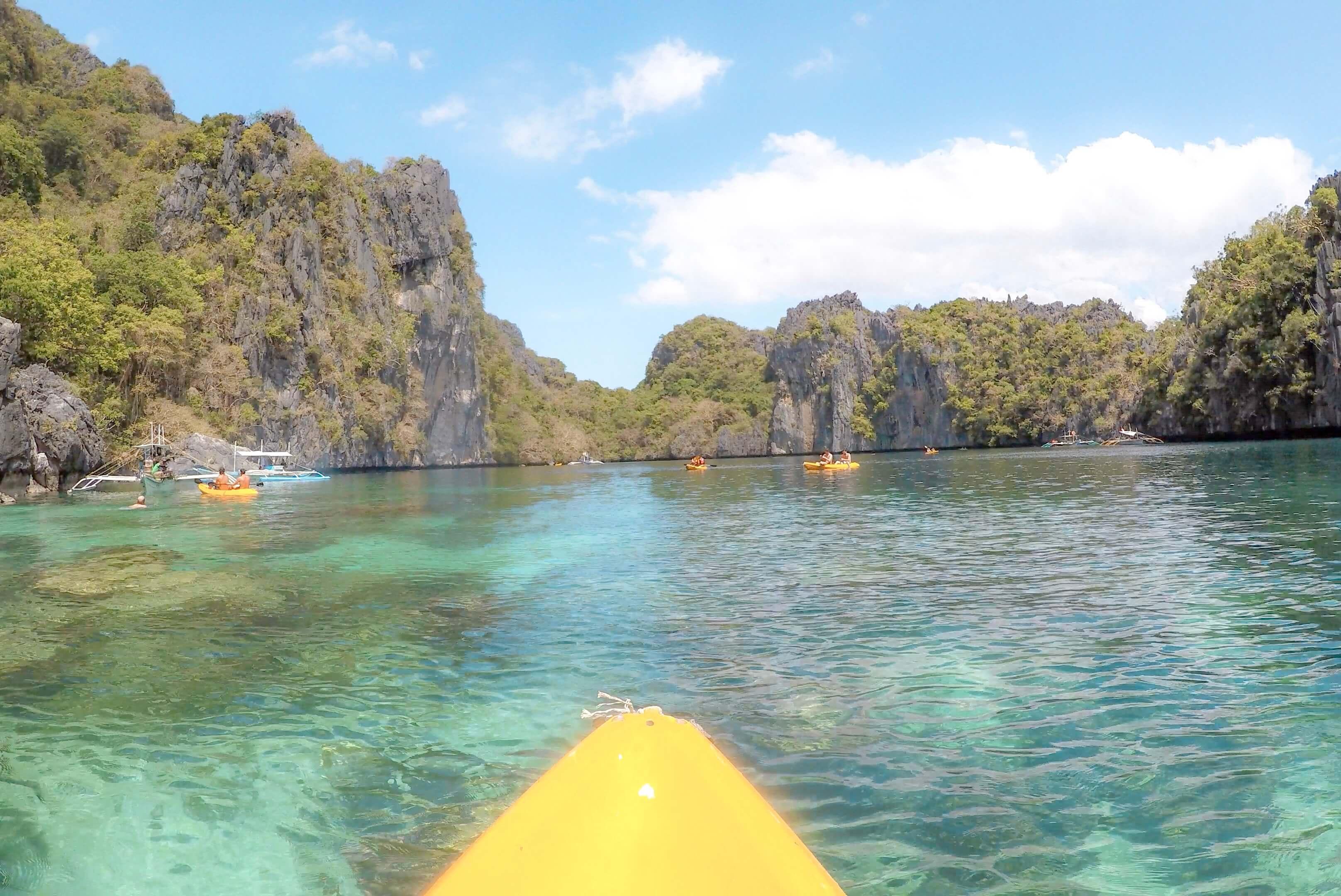 Big Lagoon El nido Philippines Island Hopping