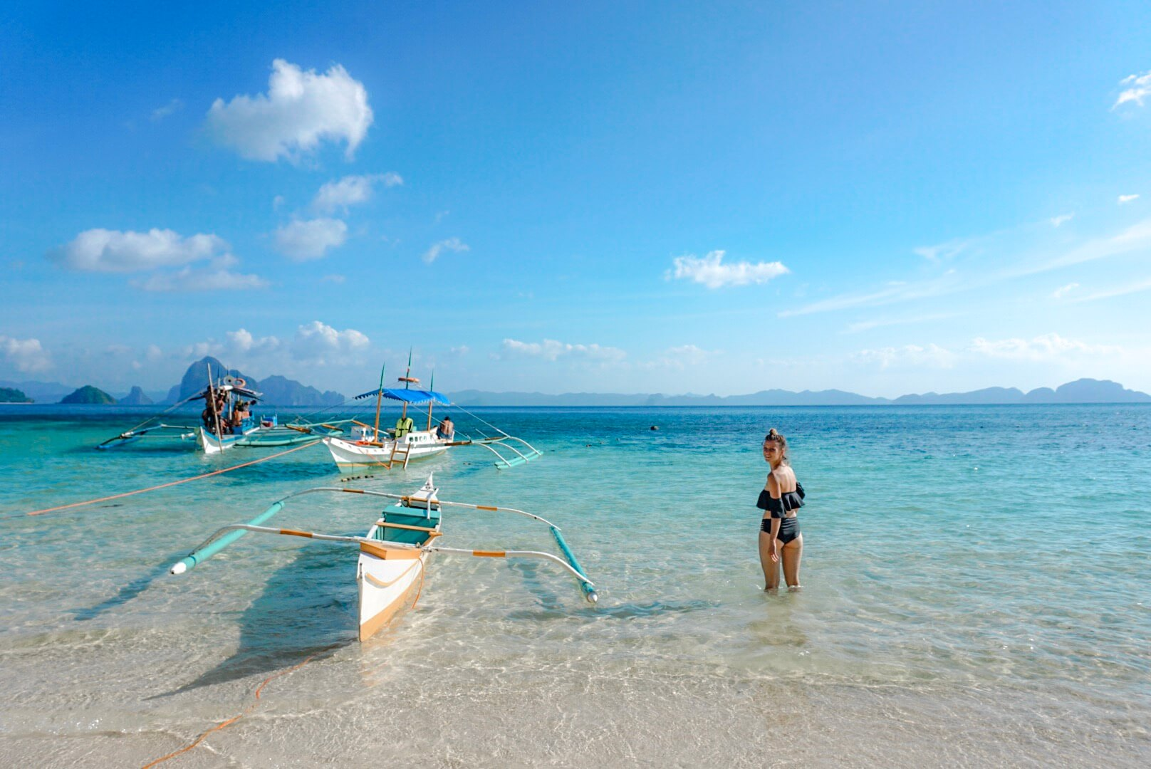Seven Commando Beach Philippines island hopping boat