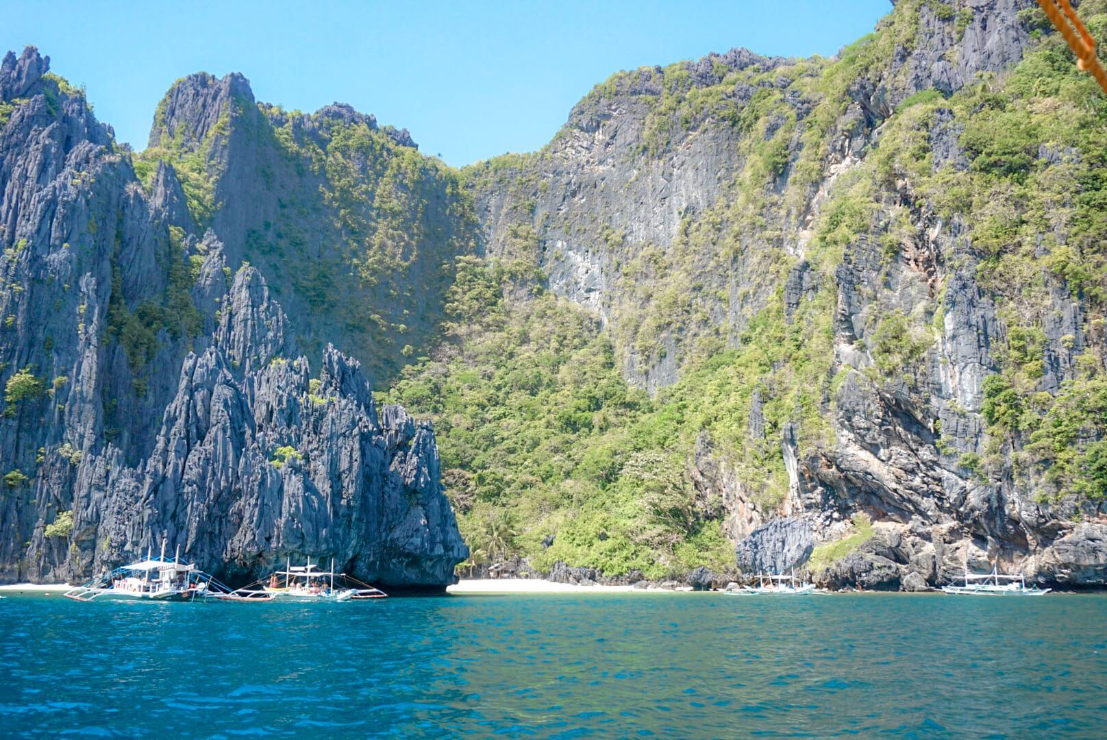 Secret lagoon island hopping Philippines