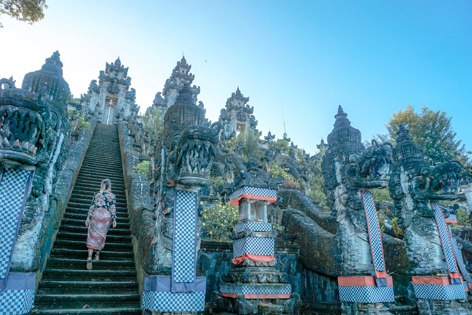 Le temple Pura Lempuyang à visiter depuis Amed en scooter