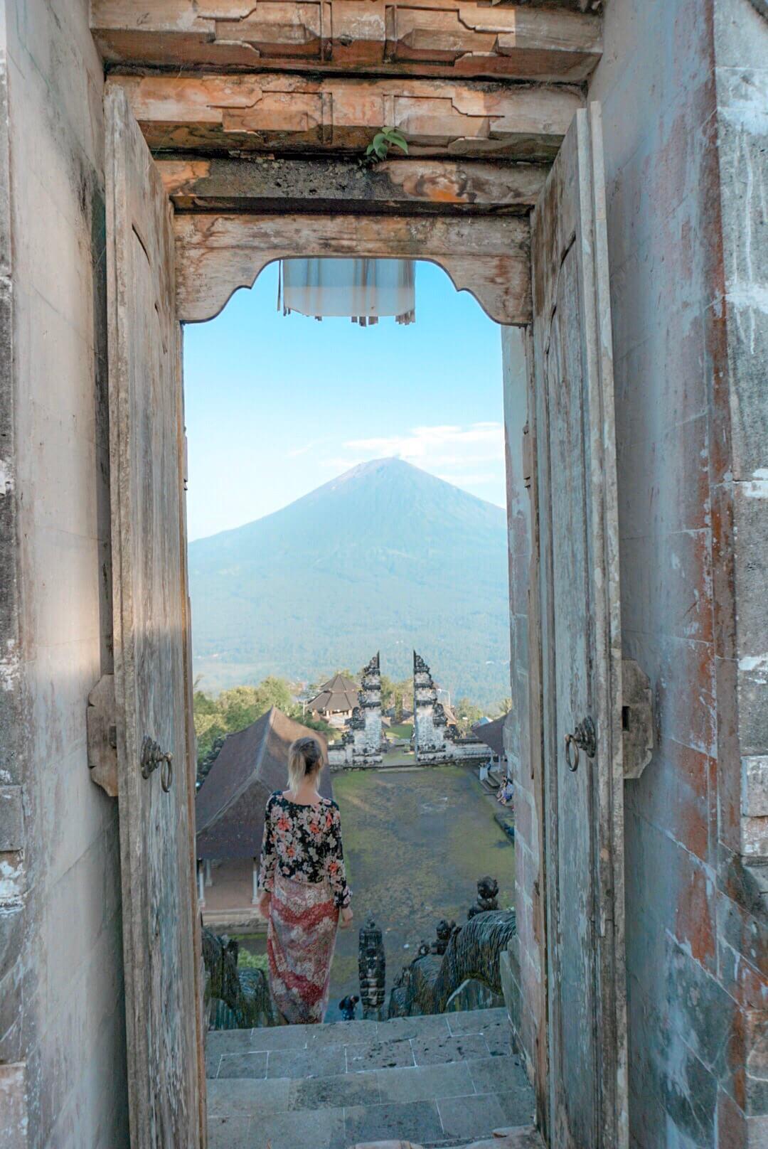se rendre au temple Pura Lempuyang depuis Amed