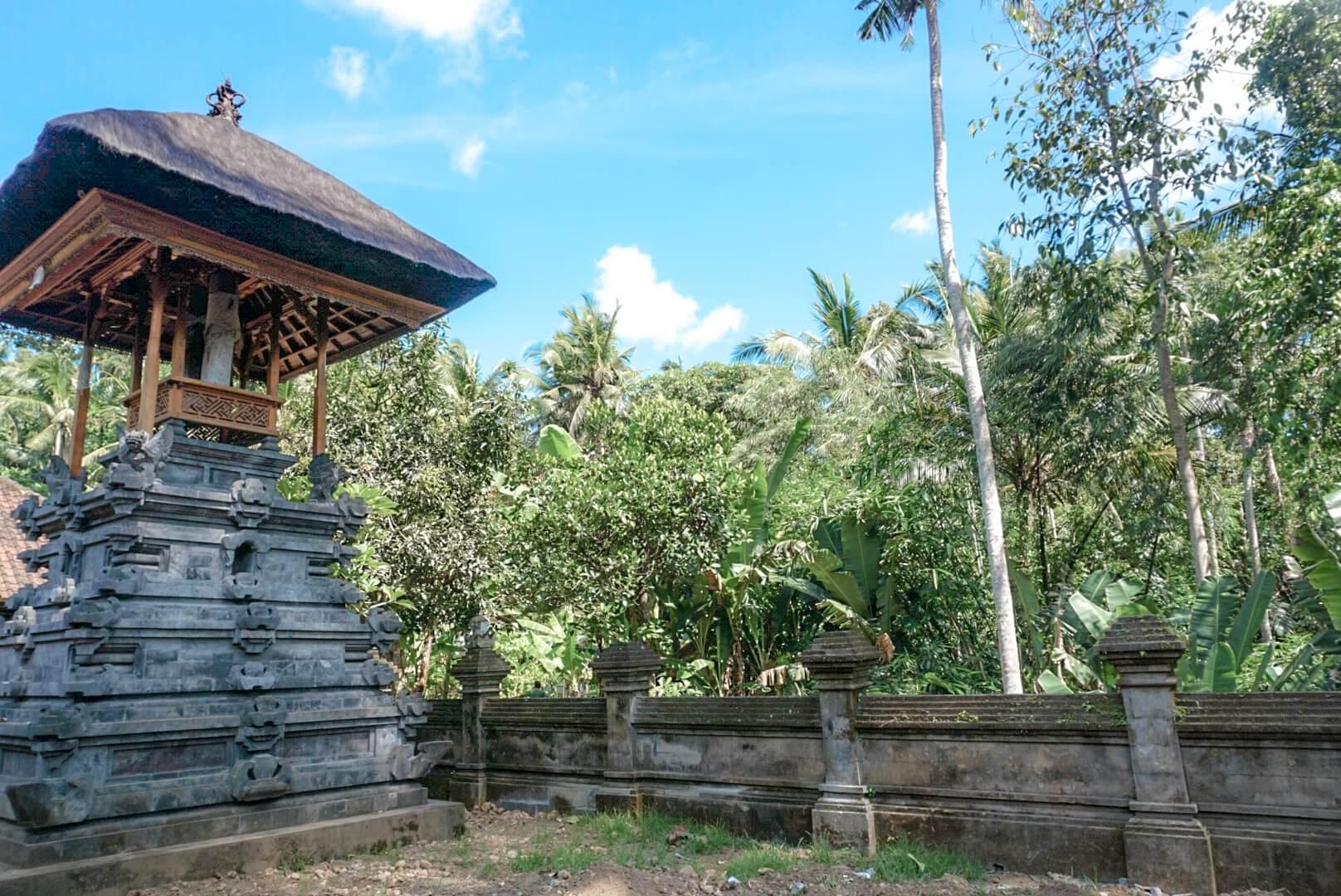 Visiter le temple de Goa Gajah par ubud Bali