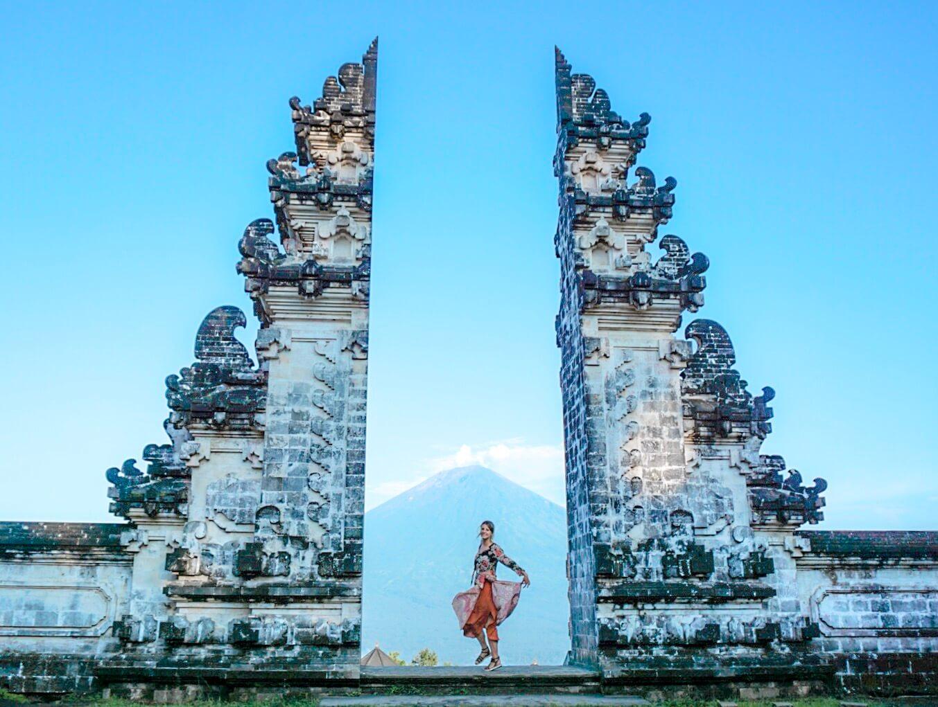 Visiter le temple de Pura Lempuyang et sa porte