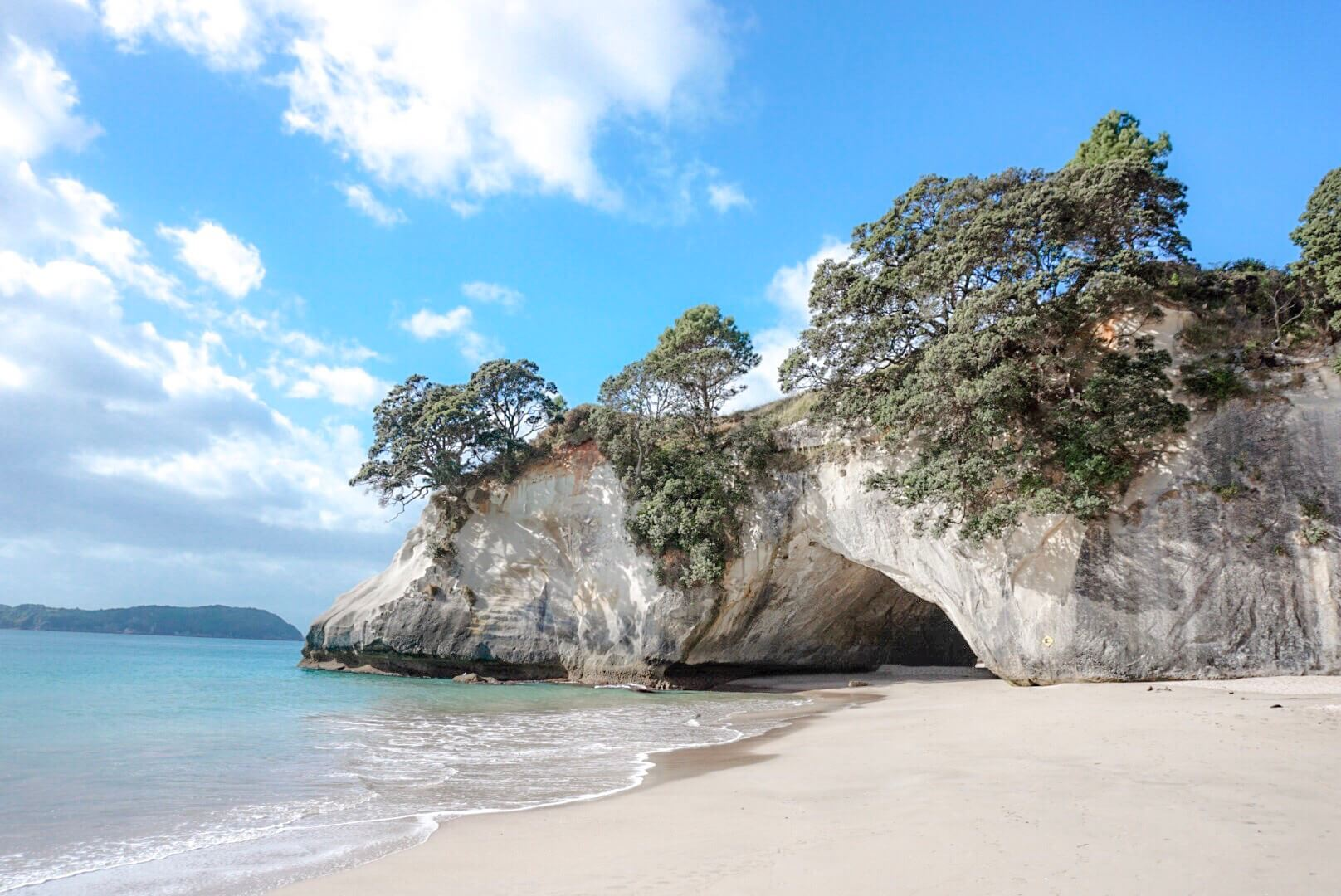 Visiter paysage coromandel Cathedral Cove