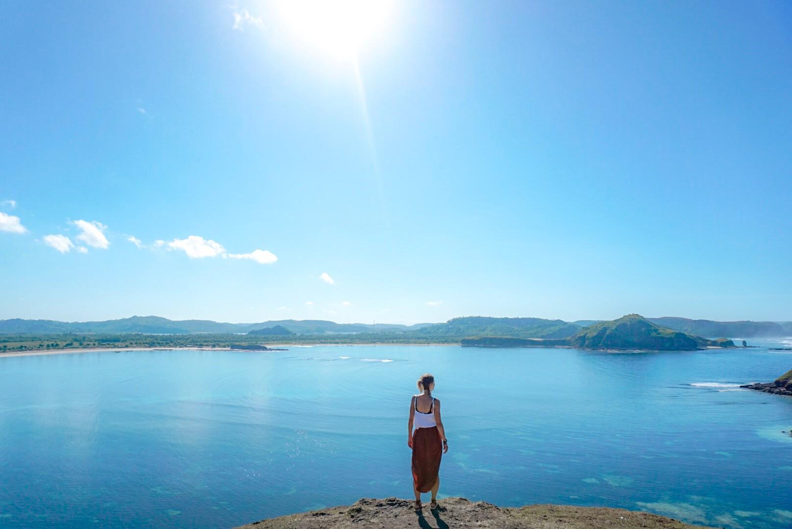 comment aller baie merese hill lombok visiter