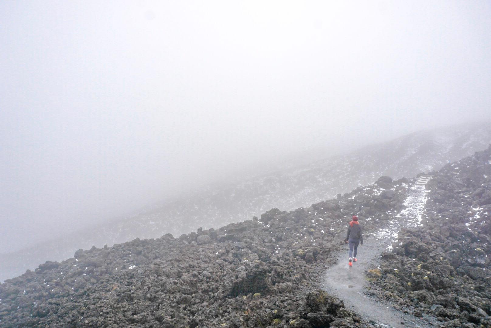 itinéraire Tongariro alpine crossing randonnée