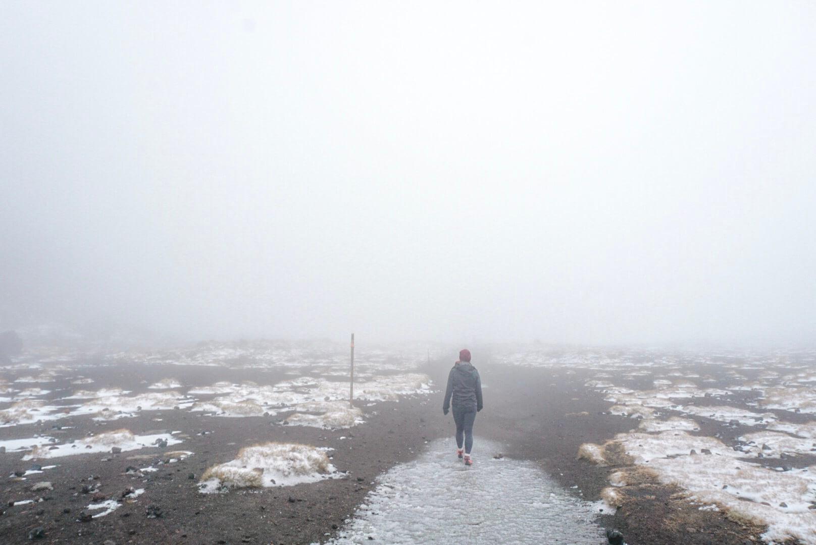 difficulté météo randonnée Tongariro alpine crossing