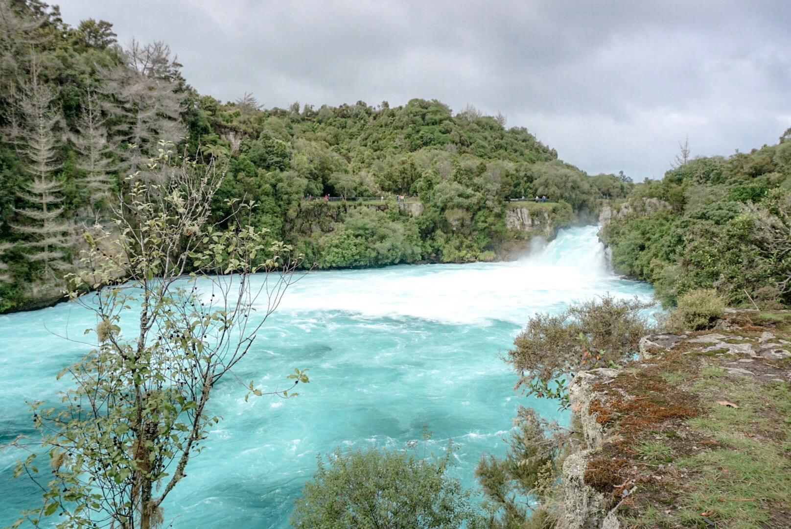 bassin parc huka falls