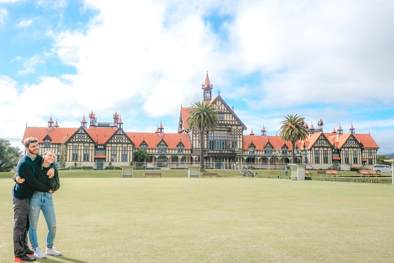 visiter le musée de Rotorua magnifique maison sur la géothermie