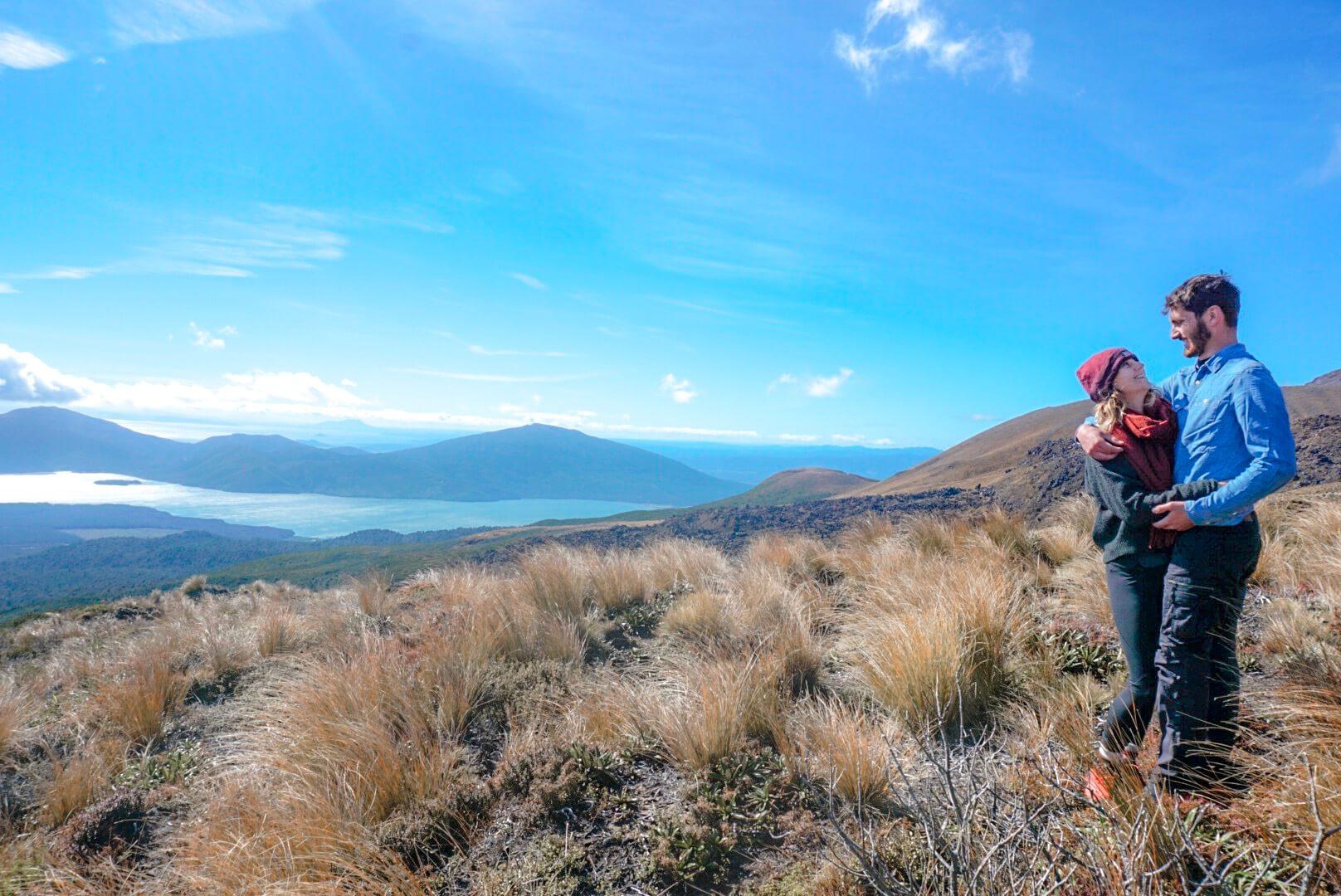 niveau profil randonnée Tongariro alpine crossing