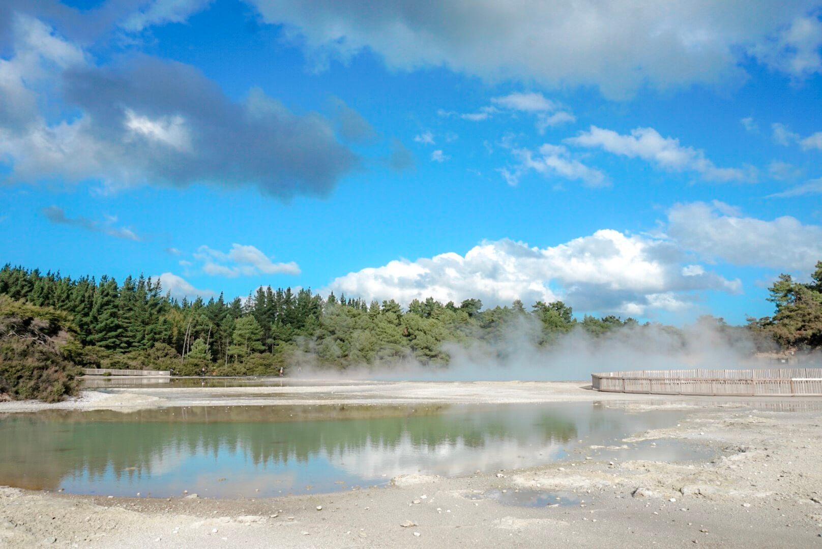 piscine géothermique champagne pool de wai-o-tapu
