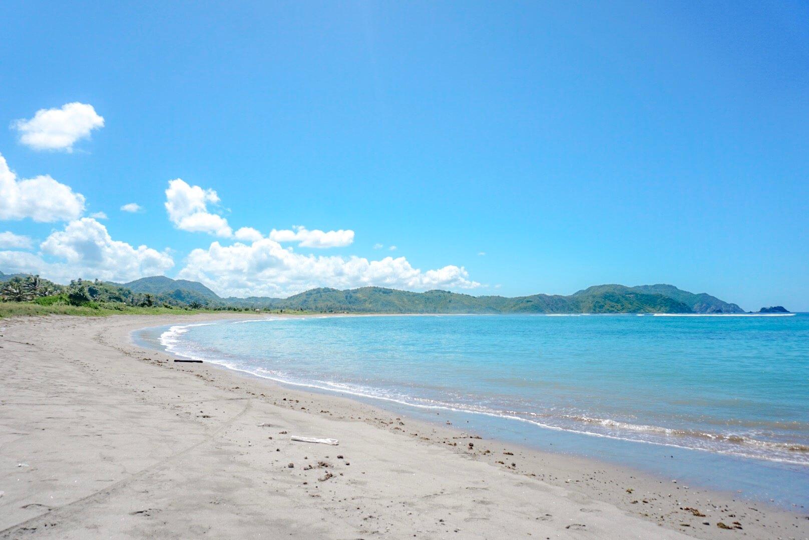 trouver une plage tranquille lombok kuta