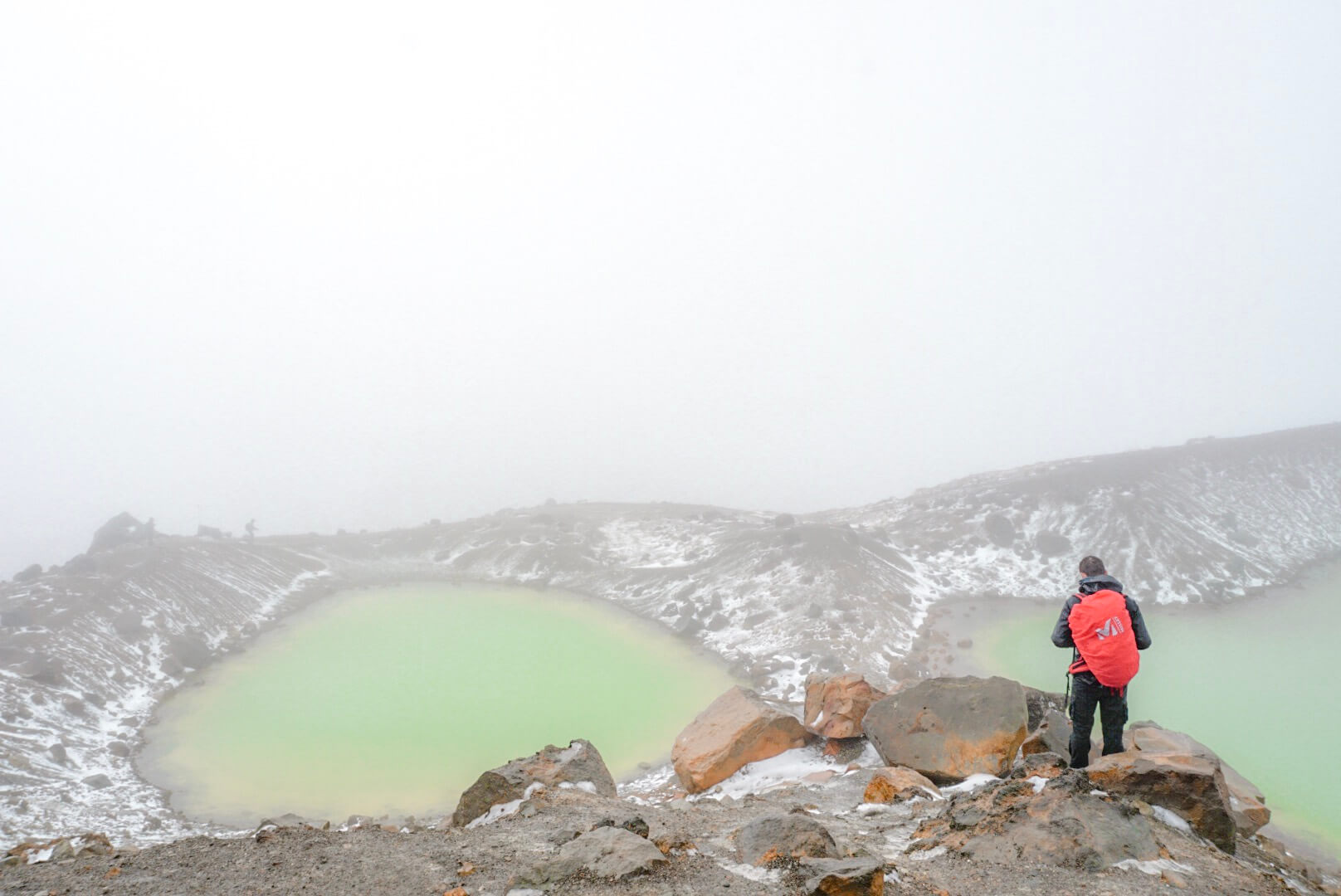 randonnée lac Emeraude Tongariro