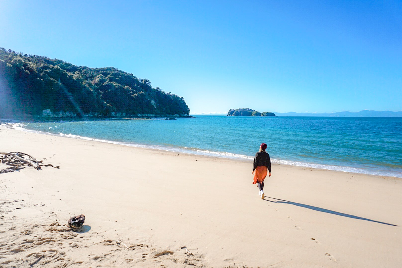 Parc Abel Tasman plage Nouvelle Zélande