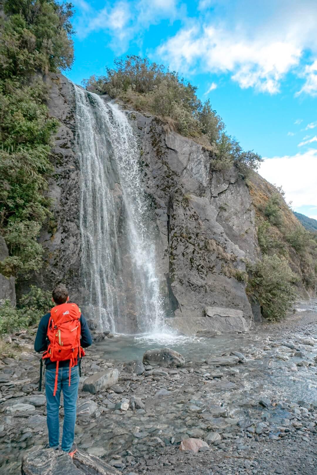 Le parc Franz Josef et ses cascades