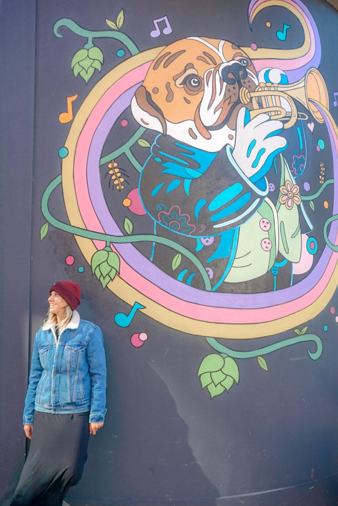 visiter Wellington en 2 jours street art