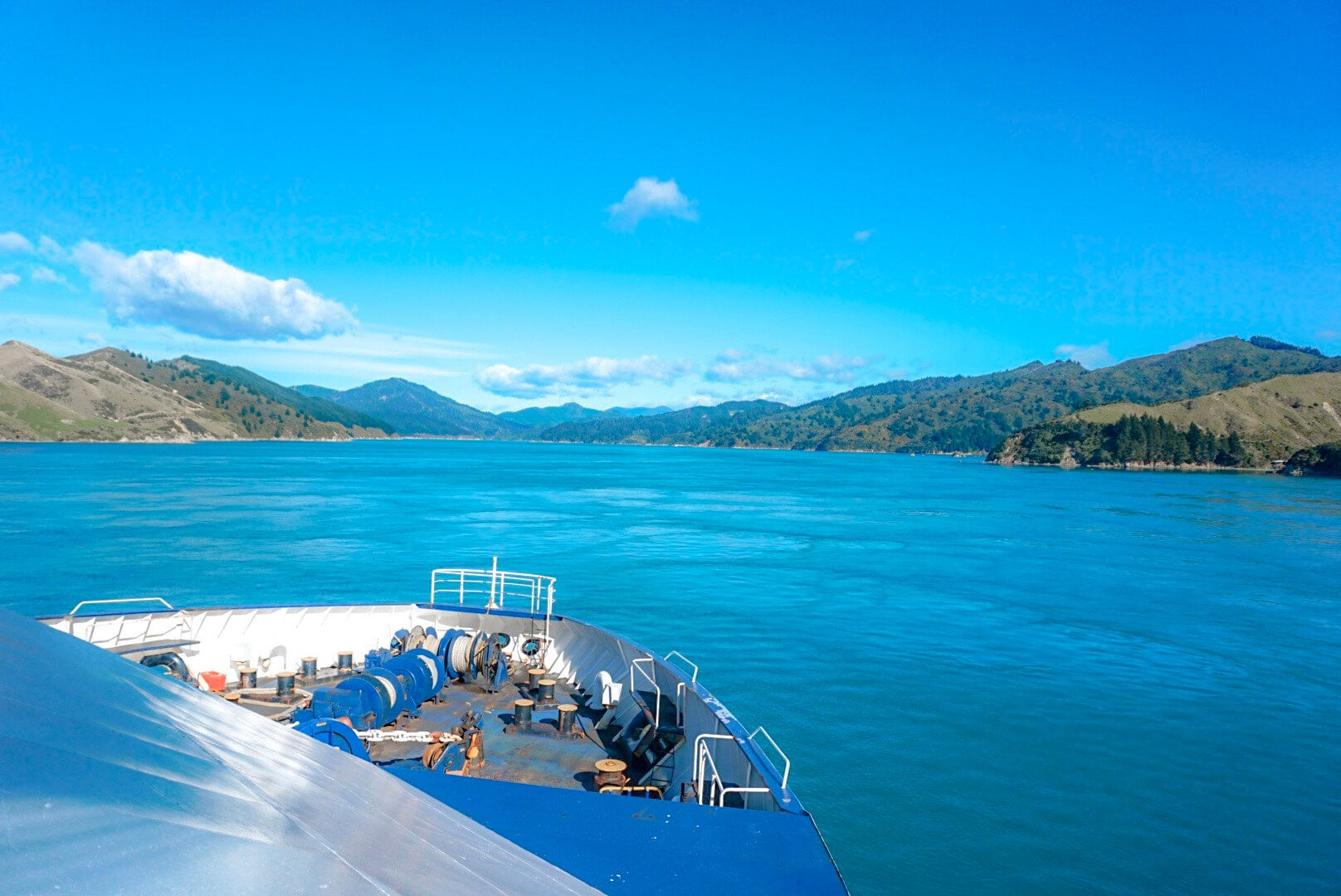 Traverser en ferry van entre Wellington et Picton