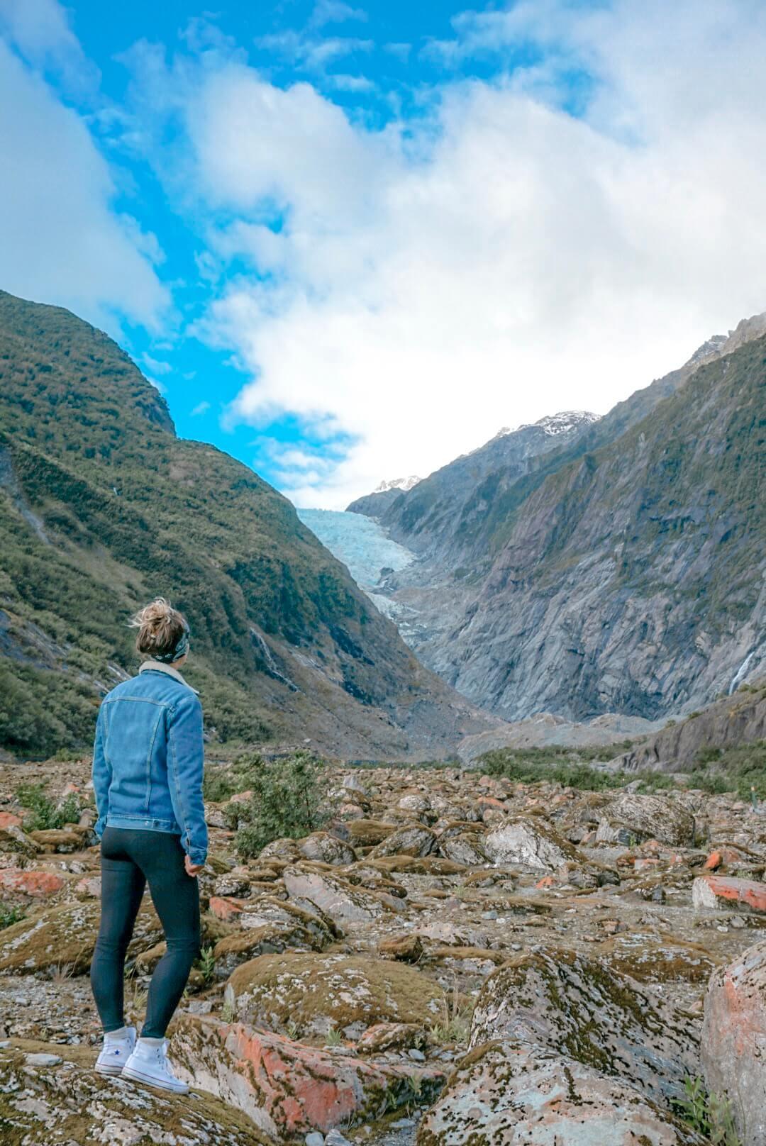 La Nouvelle Zélande et son glacier Franz Josef